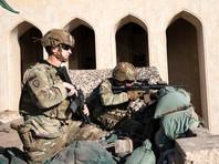 Американские солдаты на базе в Багдаде, 31 декабря 2019 года