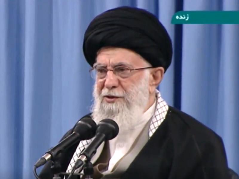 Как заявил Хаменеи в ходе выступления в городе Кум, которое транслировало иранское телевидение, Ирану удалось ответить США, обстреляв американских военных в Ираке