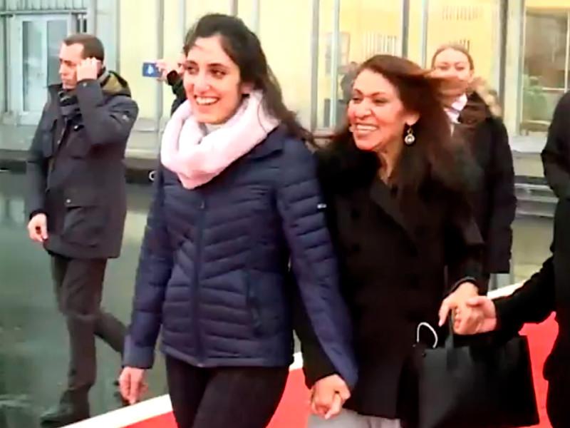 Наама Иссахар с матерью, Москва, 30 января 2020 года