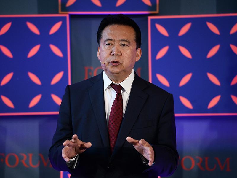 """Бывшего президента Интерпола Мэн Хунвэя приговорили к 13,5 годам тюрьмы по делу о взятках"""" />"""