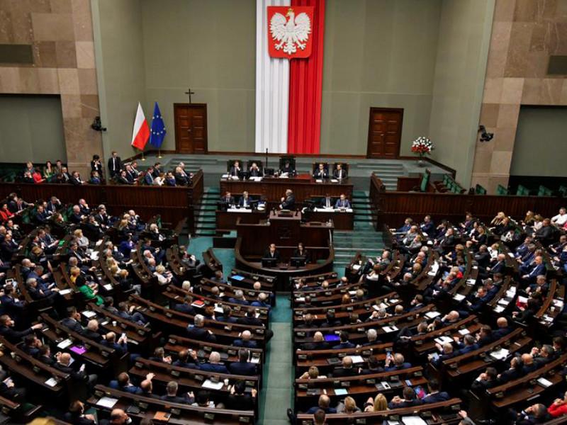 """В Польше хотят принять резолюцию против российской трактовки истории на фоне спора о начале Второй мировой"""" />"""