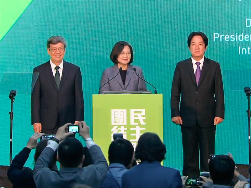 """На выборах главы администрации Тайваня победила партия, выступающая за независимость острова"""" />"""