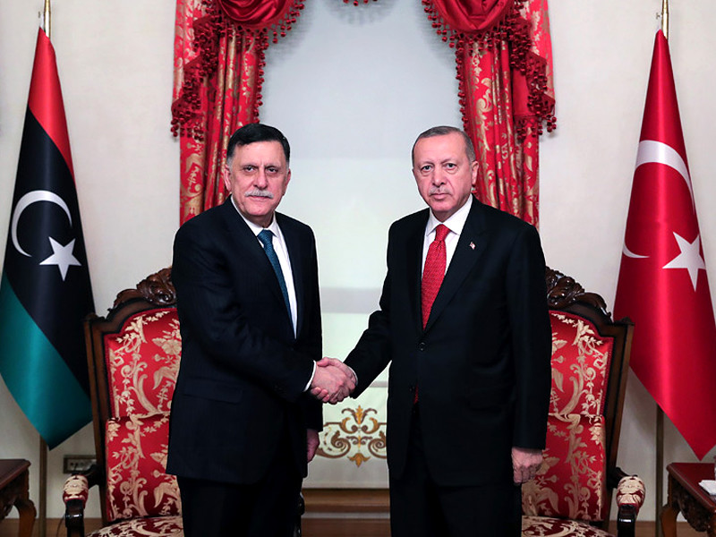 """Парламент Турции одобрил законопроект об отправке войск в Ливию"""" />"""