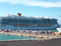 Италия разрешила круизному лайнеру продолжить путь