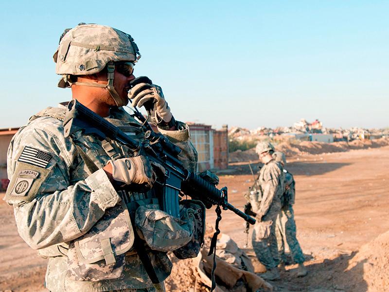"""Военная база коалиции США в Ираке подверглась ракетному удару"""" />"""