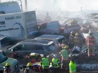В канадской провинции Квебек произошло массовое ДТП. Около 200 автомобилей столкнулись на скоростном шоссе в районе населенного пункта Ла-Прери - юго-западного пригорода Монреаля