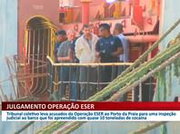 Суд в Кабо-Верде признал 11 российских моряков, задержанных год назад в порту Прая с грузом кокаина, виновными в транспортировке наркотиков