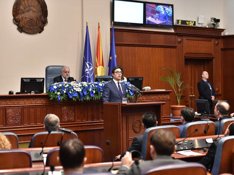 Парламент Северной Македонии во вторник одобрил протокол о вступлении страны в Североатлантический альянс