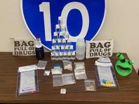 """Во Флориде поймали наркокурьеров, перевозивших товар в сумках с надписью """"Сумка, полная наркотиков"""" (ФОТО)"""