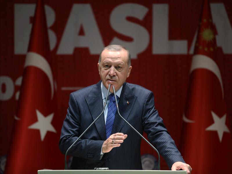 """Эрдоган заявил о позитивном для Турции развитии событий в Идлибе"""" />"""