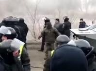На Украине вспыхнули протесты из-за прибытия эвакуированных из Китая людей (ВИДЕО)