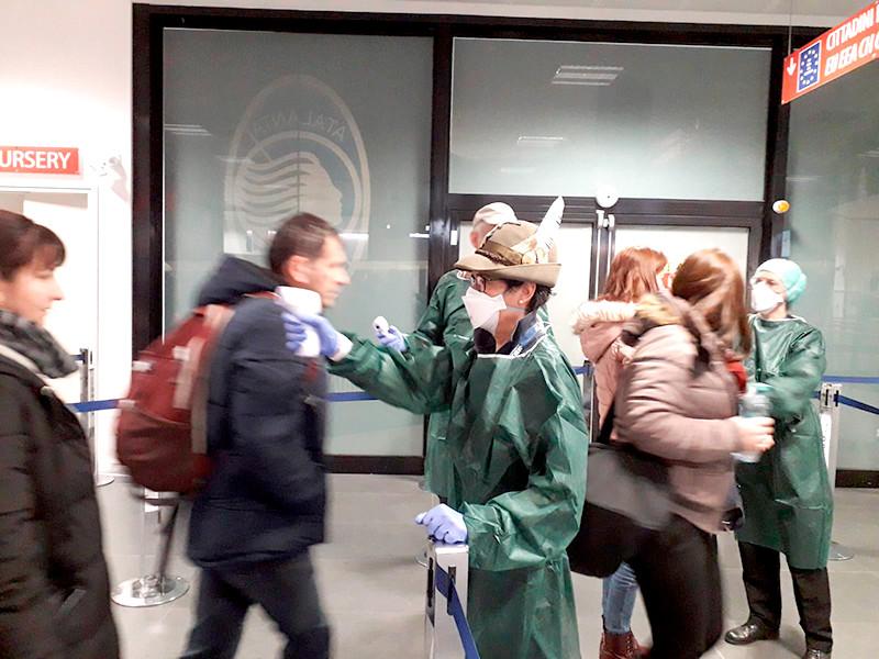 В Европе зафиксирована вторая смерть от коронавируса. В Италии скончался 78-летний мужчина, госпитализированный в Падуе в регионе Венето