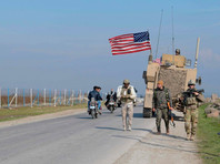 Американские военные в Сирии, январь 2020 года