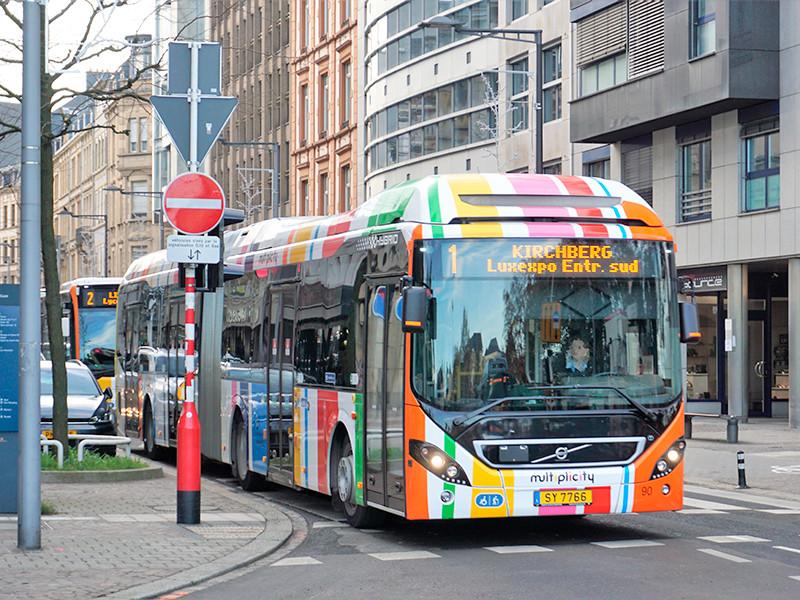 Люксембург стал первой страной мира с бесплатным общественным транспортом для всех