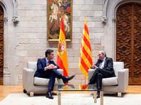 Премьер-министр Испании и лидер Каталонии договорились о начале диалога между правительствами