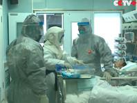 Больница в Ухане, февраль 2020 года