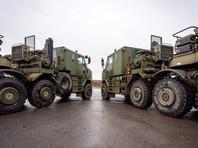 Военные машины британской армии накануне прибыли в порт бельгийского Антверпена. Первыми выгрузились машины военной полиции из Великобритании