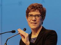 Преемница Ангелы Меркель на посту главы правящей партии отказалась баллотироваться в канцлеры ФРГ