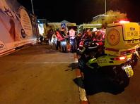 В Иерусалиме 15 военных пострадали при наезде автомобиля на тротуаре, это признали терактом (ВИДЕО)
