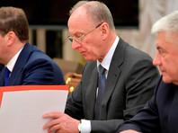 Николай Патрушев на совещании с постоянными членами Совета безопасности, 31 января 2020 года