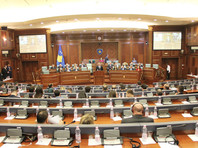 Парламент частично признанной республики Косово проголосовал в понедельник за новый состав правительства