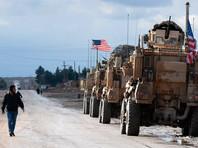 Американские военные в Сирии, декабрь 2019 года