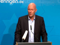 Премьер Тюрингии ушел в отставку через день после избрания