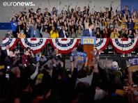 На знаковых внутренних выборах Демпартии США в Айове, обернувшихся крупным сбоем, лидирует неожиданный кандидат