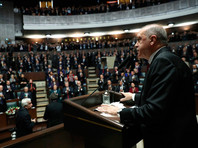 По словам Эрдогана, большинство нападений, совершаемых режимом Башара Асада и Россией в Идлибе, нацелены на гражданское население, а не на террористов