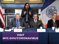 Режим ЧС ввели в Нью-Йорке из-за распространения коронавируса