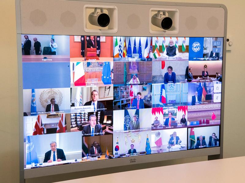 """Онлайн-саммит G20 выделяет более $5 трлн на борьбу с коронавирусом"""" />"""