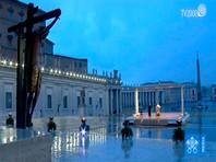 Папа Римский помолился на пустой площади о завершении эпидемии и отпустил грехи всем присоединившимся к молитве онлайн