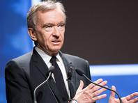 Генеральный директор LVMH, богатейший человек Европы Бернар Арно, решил пойти на такой шаг в связи с риском нехватки антисептика