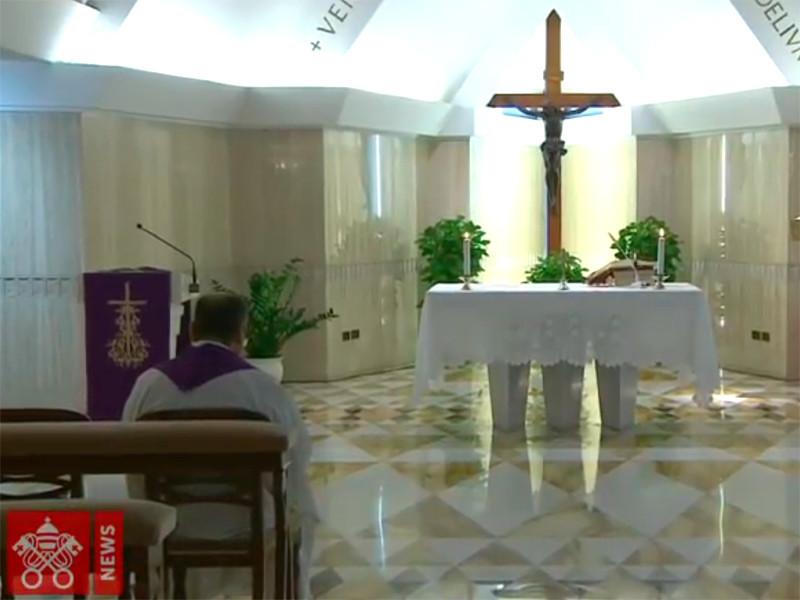Ватикан отпустит все грехи заразившимся коронавирусом и врачам