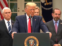 Трамп объявил в США режим чрезвычайной ситуации из-за коронавируса