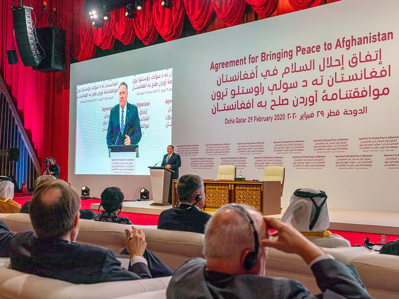 Госсекретарь США Майкл Помпео надеется, что внутриафганские переговоры начнутся в ближайшие дни