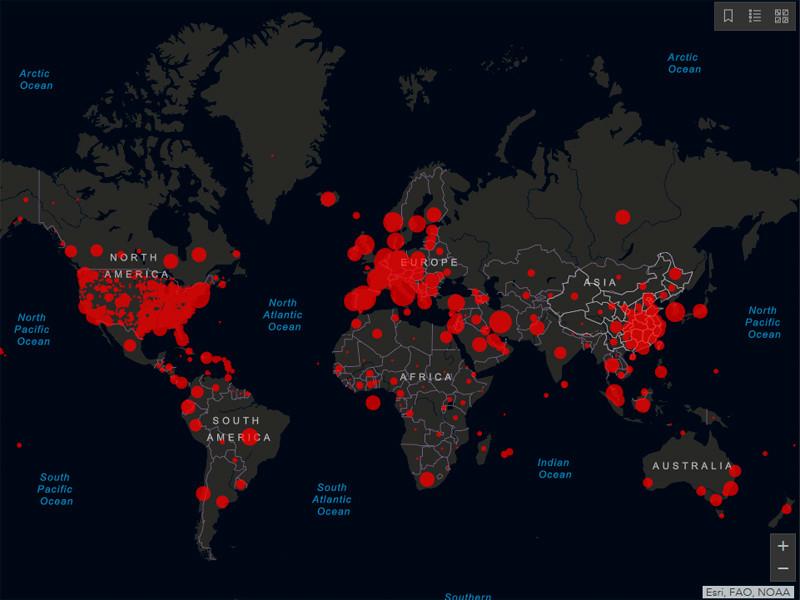 """Число инфицированных коронавирусом в мире превысило 521 тыс. человек. Более 23,5 тысяч погибших"""" />"""