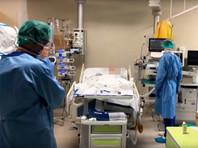 """26 марта статистика смертей в результате пандемии коронавируса побила """"рекорд"""" - плюс 2378 человек, всего более 21300 погибших"""