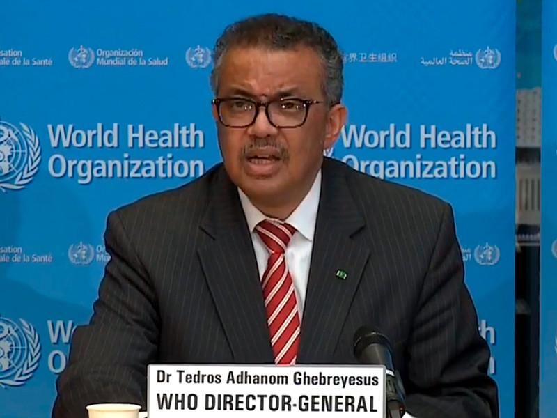 Распространение нового коронавируса в мире приобрело характер пандемии, заявил на брифинге в Женеве гендиректор Всемирной организации здравоохранения Тедрос Адханом Гебрейесус