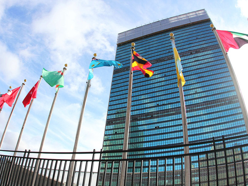 Украина, Грузия, Великобритания, США и Евросоюз на Генеральной ассамблее ООН не поддержали резолюцию о солидарности в борьбе с коронавирусом COVID-19, а также отказе от торговых войн и односторонних санкций