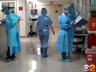 В штате Нью-Йорк за сутки скончалось рекордное количество больных с коронавирусом