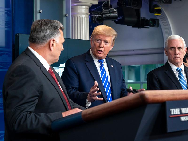 Дональд Трамп, Майк Пенс (на фото - справа) и Уильям Брайан