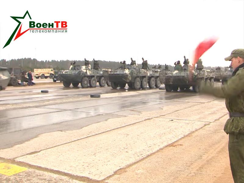 Репетиция парада в ВС Белоруссии