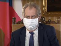 Президент Чехии Милош Земан считает, что границы республики, закрытые в марте из-за эпидемии коронавируса, следует открыть не раньше, чем через год