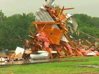 На южные штаты США обрушились торнадо и град размером с грейпфрут: погибли шесть человек (ФОТО, ВИДЕО)