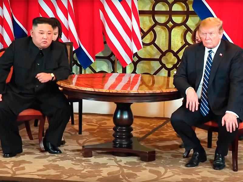 Ким Чен Ын и Дональд Трамп, 28 февраля 2019 года