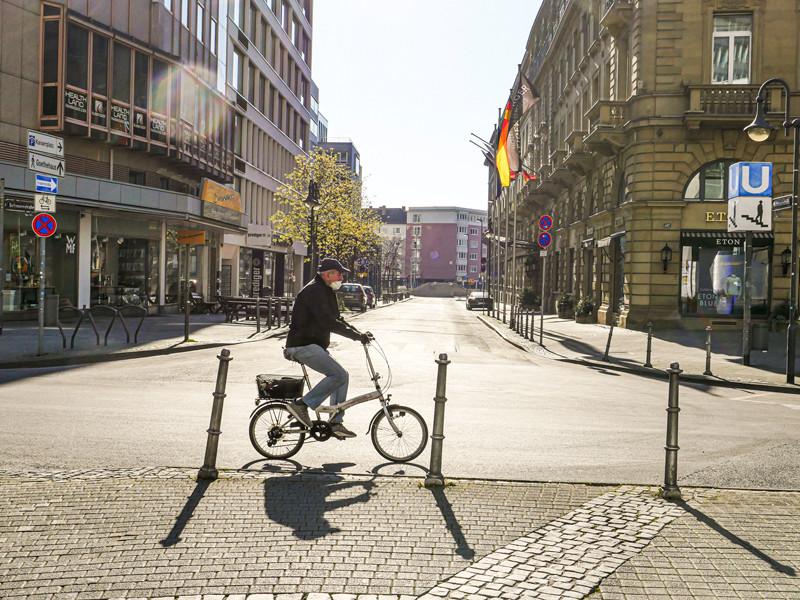 Франкфурт, 5 апреля 2020 года