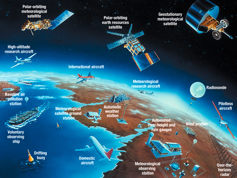 Всемирная метеорологическая организация (ВМО) опасается, что пандемия может повлиять на количество и качество наблюдений и прогнозов, а также на мониторинг атмосферы и климата