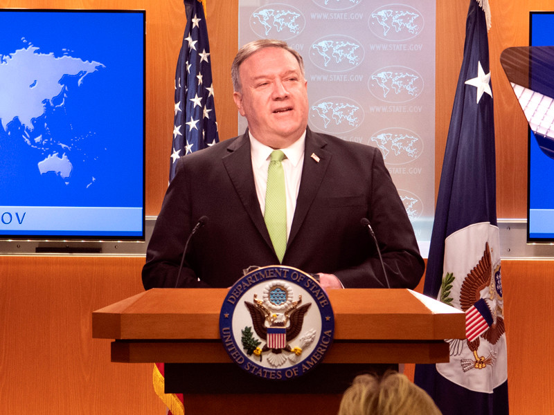 "США осудили КНР из-за нового законопроекта о нацбезопасности Гонконга"" />"