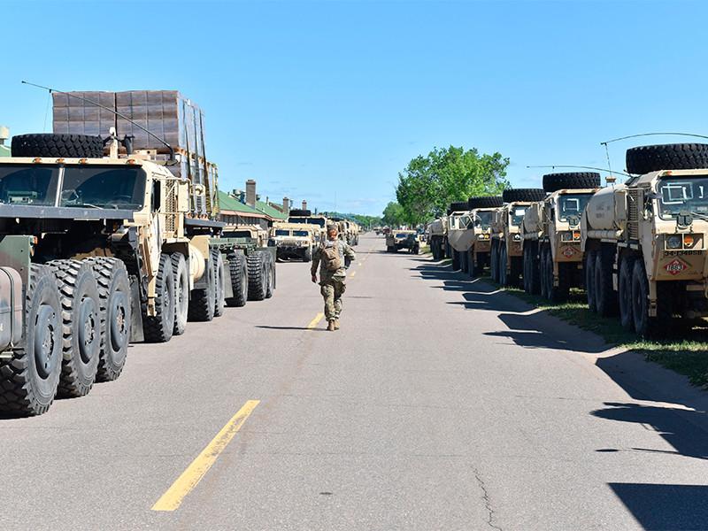 """В Миннесоте из-за протестов впервые со времен Второй мировой войны объявлена полная мобилизация Нацгвардии"""" />"""